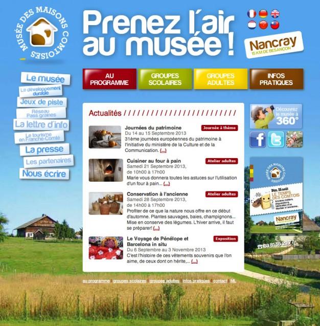 Musée des maisons comtoises - Accueil