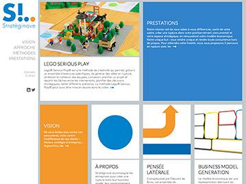 Création du site internet d'un consultant en créativité et innovation