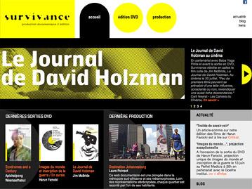 Création du site internet d'une société de production, de distribution et d'édition vidéo