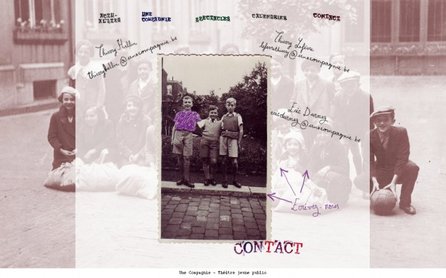 Une Compagnie - Contact